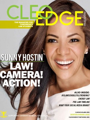 CLEO EDGE is the premier pre-law magazine law school applicants.