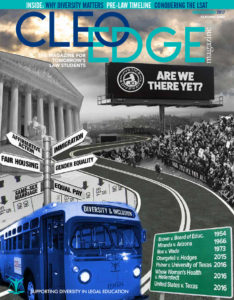 cleo edge premier pre-law magazine